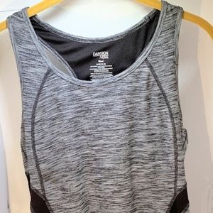 🦎 Danskin Activewear Black Tank Top Women XL